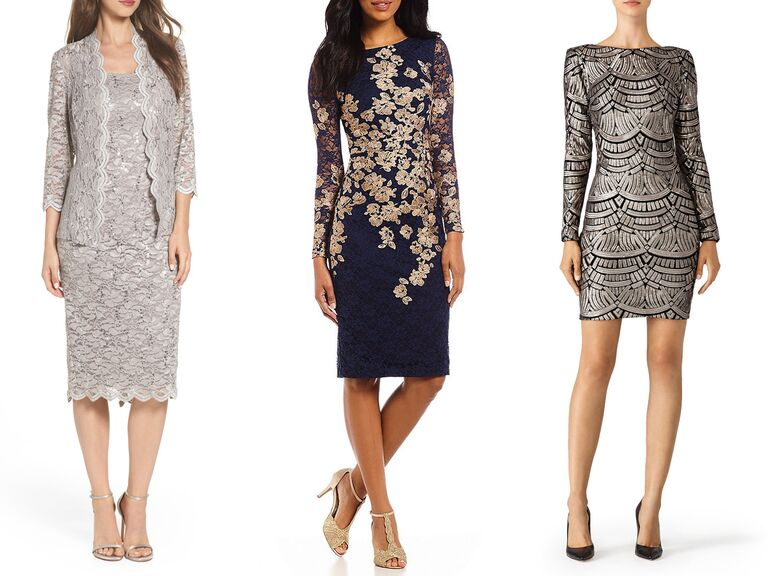 31 Elegant Wedding Guest Dresses With Sleev