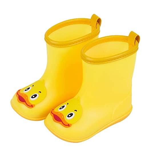 Amazon.com: Sikye Kids' Waterproof Sneaker Cartoon Duck Rubber .