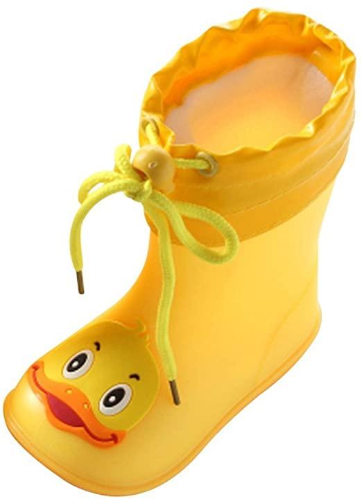 Amazon.com: Allywit丨Duck Shoes 丨PVC Rubber Kids Baby Cartoon .