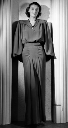 468 Best 1940s Evening Wear images | 1940s, 1940s fashion, Fashi