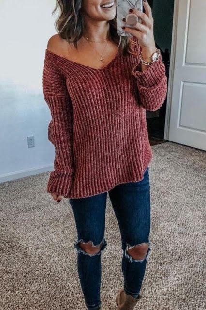 Super Cute Fall Outfit Ideas 2019   Cute fall outfits, Fashion .
