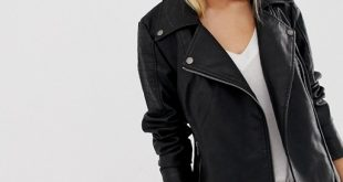 Noisy May faux leather jacket | AS