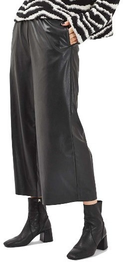 Topshop Alphie Faux Leather Pants, $70 | Nordstrom | Lookastic.c