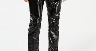 INC International Concepts I.N.C. Men's Slim-Fit Faux-Leather .