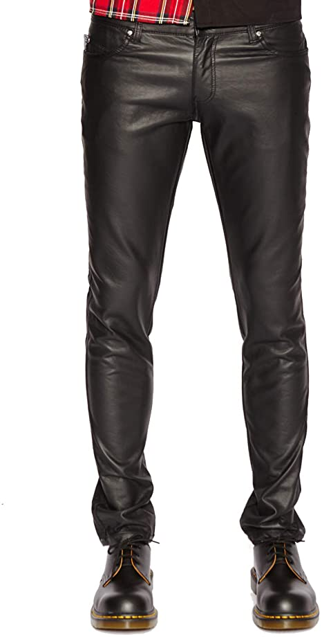 Tripp NYC Faux Leather Pant at Amazon Men's Clothing sto