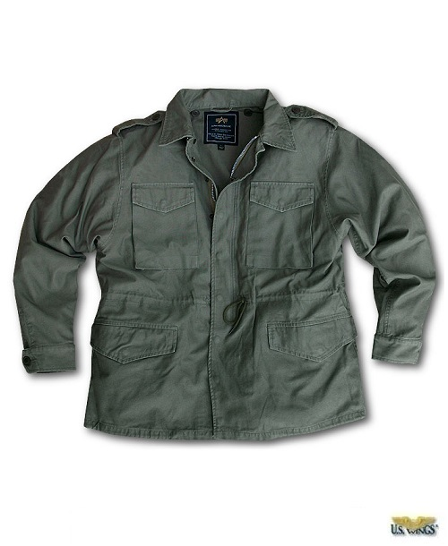 The Alpha M-51 Field Jacket is available at US Wing
