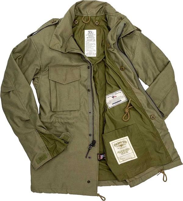 M65 Field Jacket   Men's Field Coat   M65 Military Jack