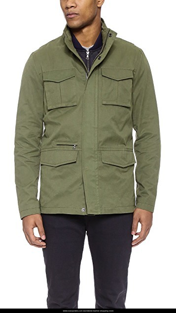 Vince Military Field Jacket - Stars Jacke