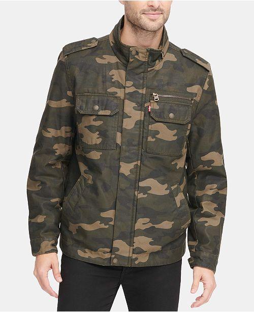 Levi's Men's Field Jacket & Reviews - Coats & Jackets - Men - Macy