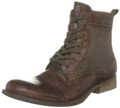 Firetrap Rustic II Mens Leather Boots #mensfashionforfall .