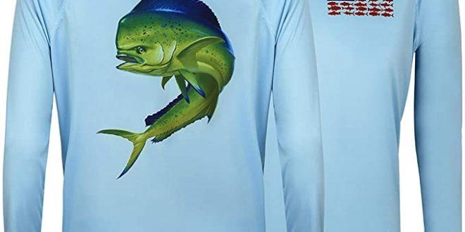 Amazon.com: HDE Performance Fishing Shirts for Men - Long Sleeve .