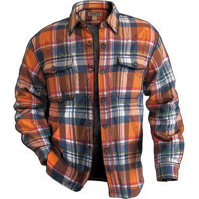 Men's Flapjack Flannel Shirt Jac | Flannel jacket, Mens fashion .