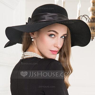Ladies' Glamourous/Simple/Amazing/Nice Wool Floppy Hats (196218762 .