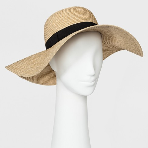 Women's Floppy Hat - A New Day™ Tan : Targ