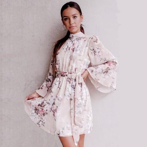 Northern Beauty Floral Dress | Celebrious Online Boutiq
