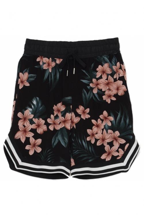 Sixth June floral shorts black pink   SIXTH JUNE offici