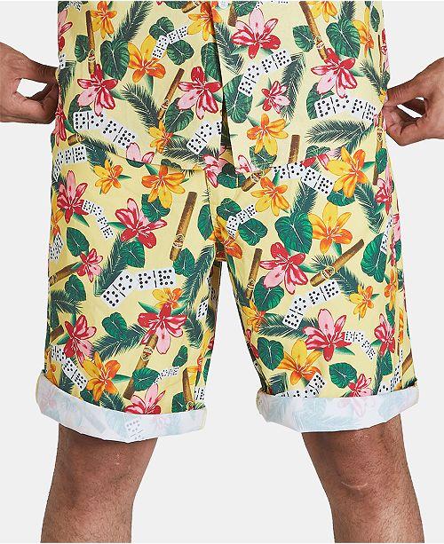 DOPE Men's Havana Floral Shorts & Reviews - Shorts - Men - Macy