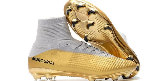 2020 2020 Hot Selling Football Boots 100% White Gold Kids Soccer .
