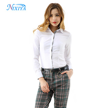 Women casual formal shirts and pants combination, View formal .