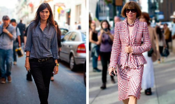 French Fashion v. American Fashi