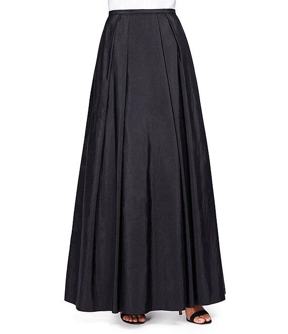 Alex Evenings Long Taffeta Full Skirt | Dillard