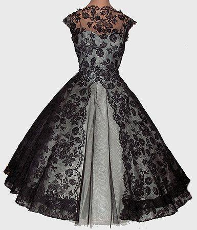Forgotten Designer Mary Black | Vintage outfits, Pretty dresses .