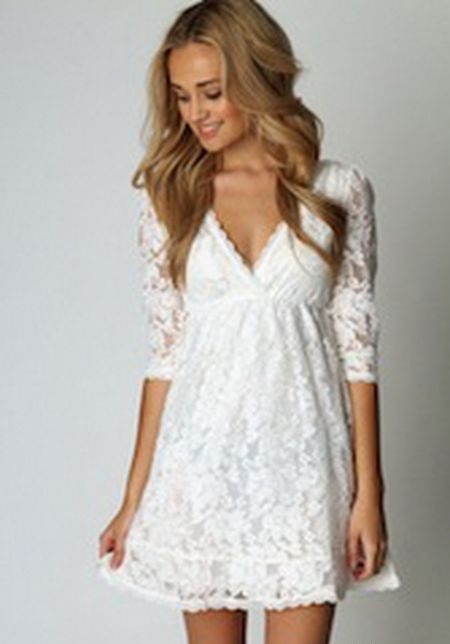 White Going Out Dresses – Fashion dress