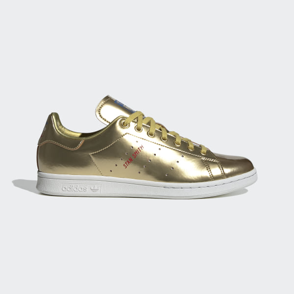 adidas Stan Smith Shoes - Gold | adidas