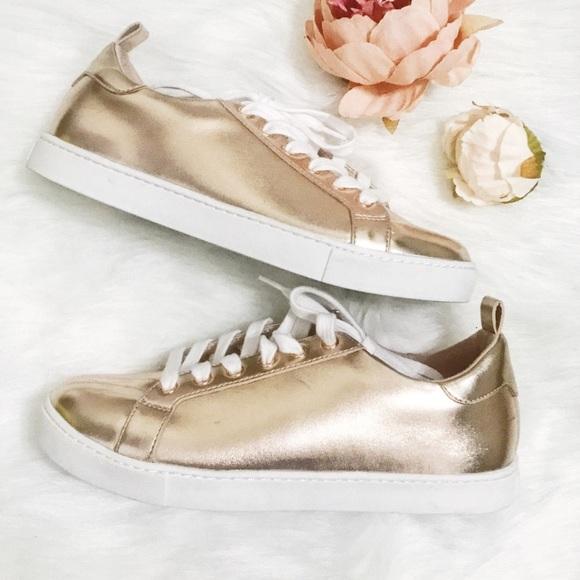Aldo Shoes | Rose Gold Women Sneaker | Poshma
