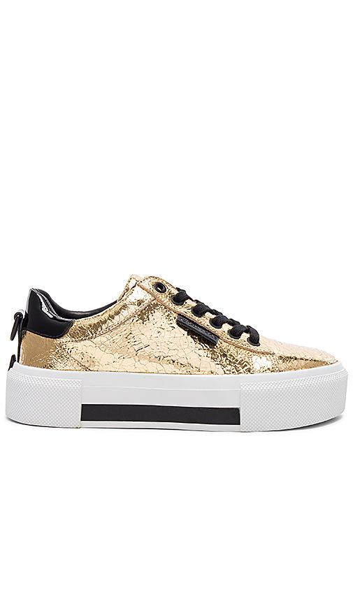 KENDALL + KYLIE Tyler Sneaker in Gold | REVOL