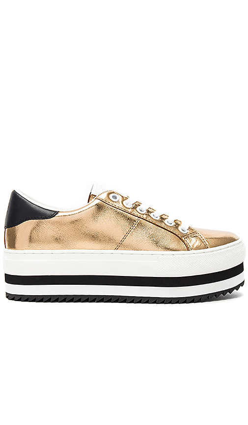 Marc Jacobs Grand Platform Sneaker in Gold | REVOL
