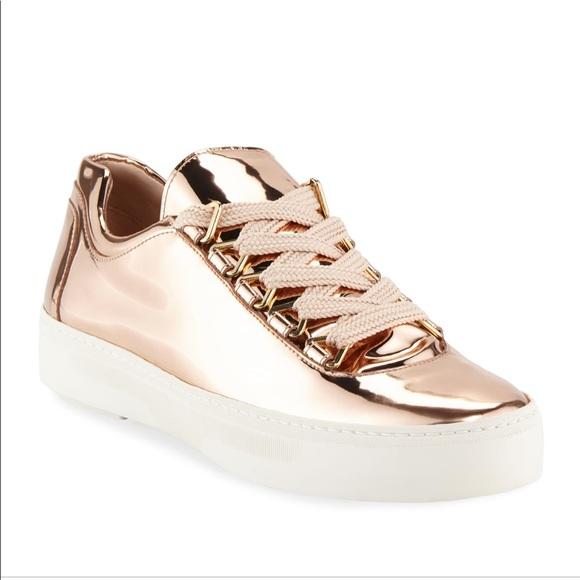 Stuart Weitzman Shoes | Stuart Weizmann Rose Gold Sneaker | Poshma