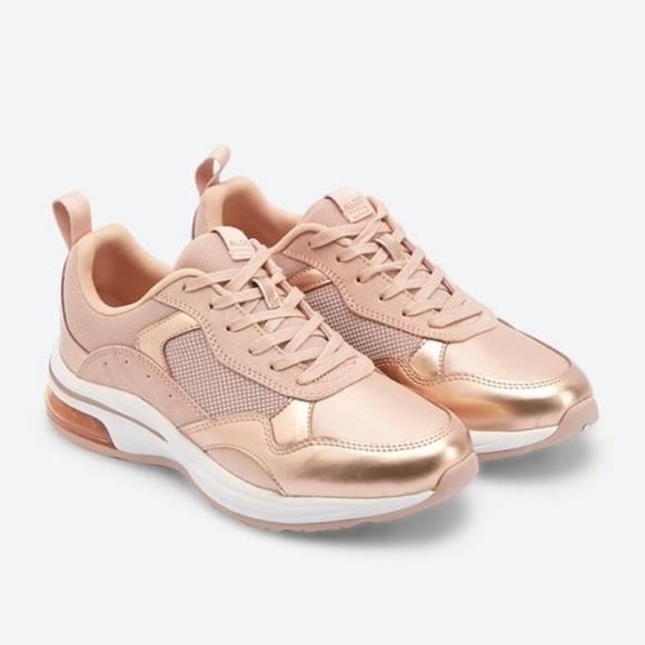 Aldo Shoes | Drandra Rose Gold Sneakers | Poshma
