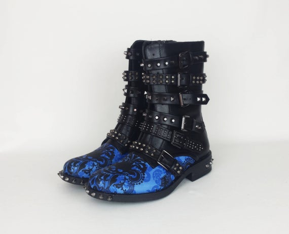 Pastel goth gothic boots skull boots women shoes | Et