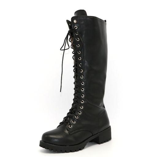 Knee High Gothic Boots — Boots N Bags Heav