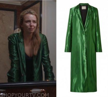 Killing Eve: Seson 2 Episode 4 Villanelle's Long Green Coat | Shop .