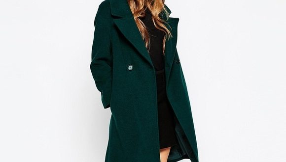 Ann Taylor Jackets & Coats | Forest Green Coat | Poshma