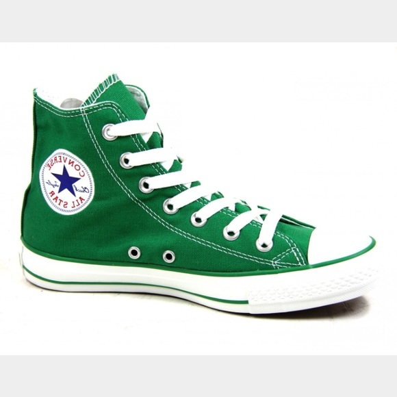 Converse Shoes | Sale Green High Tops | Poshma