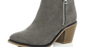 River Island Girls grey ankle boots from River Island Clothi