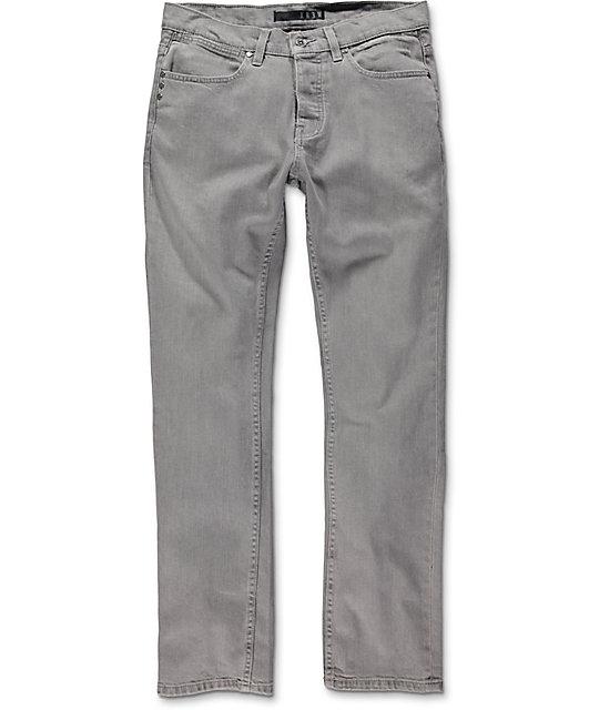KR3W K Slim Smog City Grey Jeans   Zumi