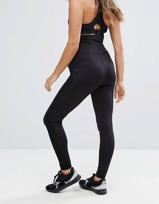 & You Maternity Gym Legging With Mesh Sides | AS