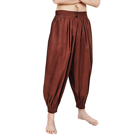 Harem pants brown - andracor.c