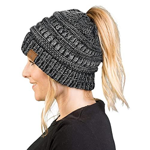 Ponytail Winter Hats: Amazon.c