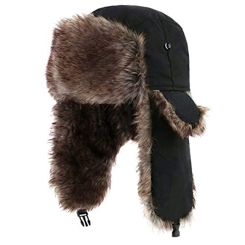 Winter Fur Hat: Amazon.c