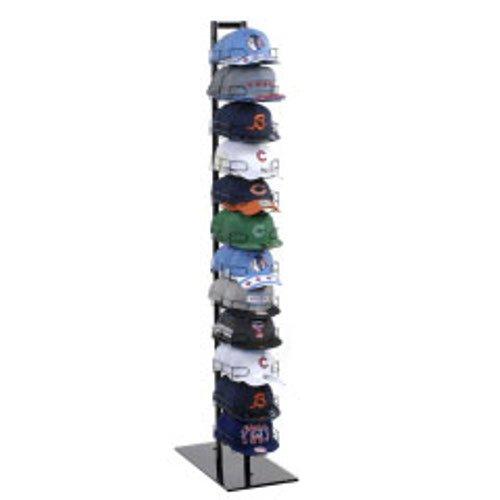Amazon.com: New 12 Tier Baseball Hat Rack Display Tower Black 73 .