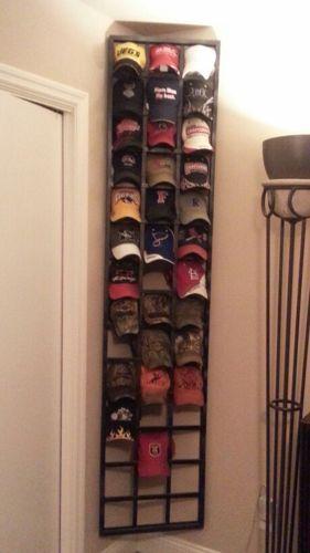 9 DIY Hat Rack Ideas for Any Home   Diy hat rack, Hat storage .