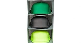 Amazon.com: Boxy Concepts Hat Rack 10 Shelf Hanging Closet Hat .