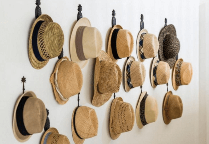 20+ Cost-Friendly and Easy Hat Rack Ideas for Your Hats Collecti