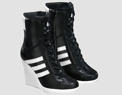 Adidas High Heels Black | Perry shoes, Jeremy scott adidas sho
