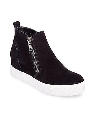 Steve Madden Wedge High Top Sneakers | be